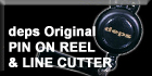 Original Pin On Reel & Line Cutter