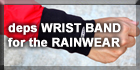 Wrist Band for the Rainwear