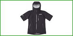 (B-TRUE) Half Sleeve Stretch Rain Jacket
