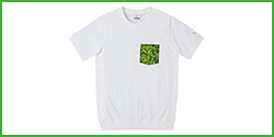 (B-TRUE) Orikamo Pocket T-Shirt