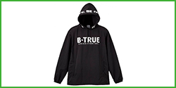 [B-TRUE] Packable Pull Parka