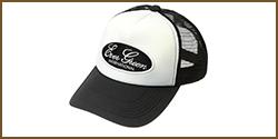 E.G. Emblem Mesh Cap