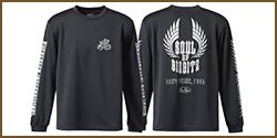 E.G. Metal Soul ★ Dry Long T-Shirt (Type A)