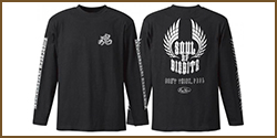 E.G. Metal Soul ★ Long T-Shirt (Type 1)