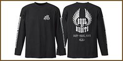 E.G. Metal Soul ★ Long T-Shirt (Type 1)
