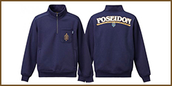 Poseidon Premium Half Zip Sweat