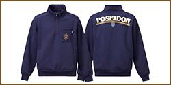 Poseidon Premium Half Zip Sweat