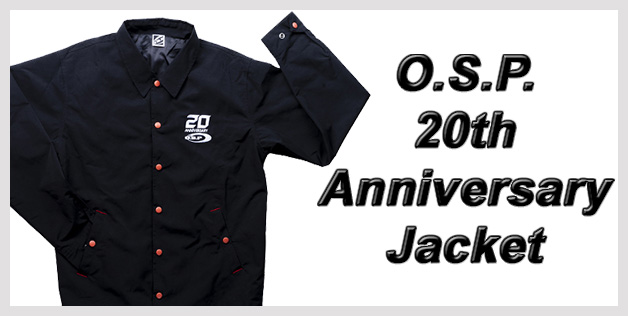 O.S.P. 20th Anniversary Jacket