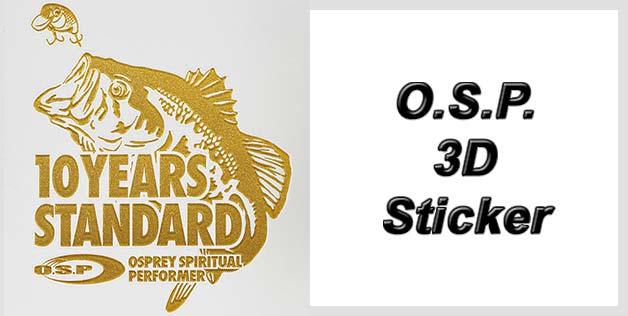 O.S.P. 3D Sticker