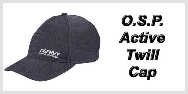 O.S.P. Active Twill Cap