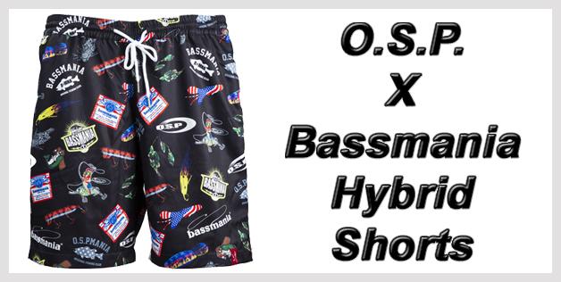 O.S.P. X Bassmania Hybrid Shorts