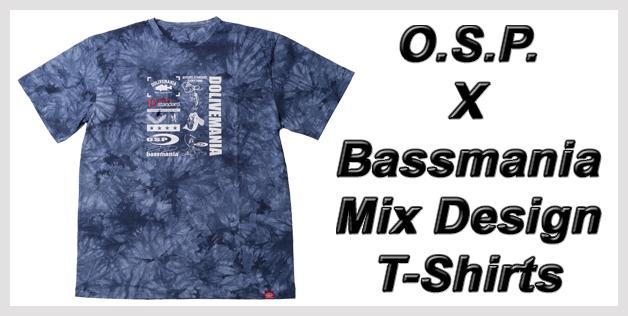 O.S.P. X Bassmania Mix Design T-Shirts