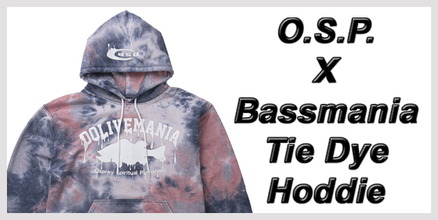 O.S.P. X Bassmania Tie Dye Hoodie