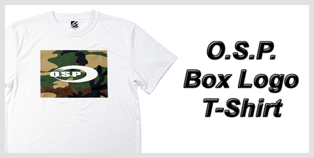 O.S.P. Box Logo T-Shirt