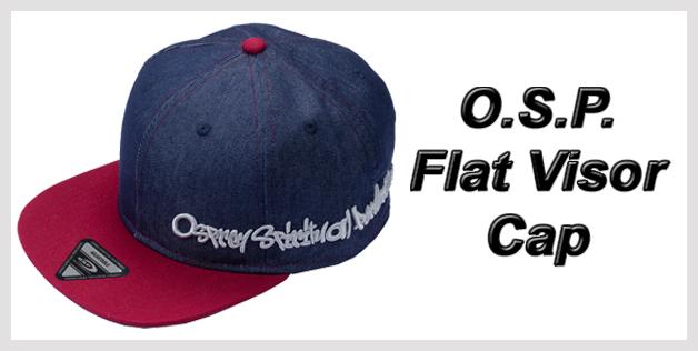 O.S.P. Flat Visor Cap