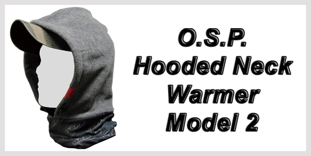 O.S.P. Hooded Neck Warmer Model 2