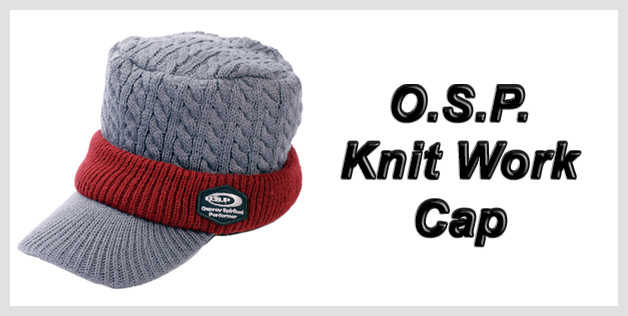 O.S.P. Knit Work Cap
