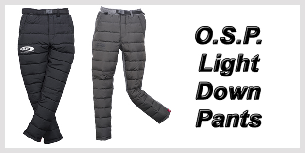 O.S.P. Light Down Pants