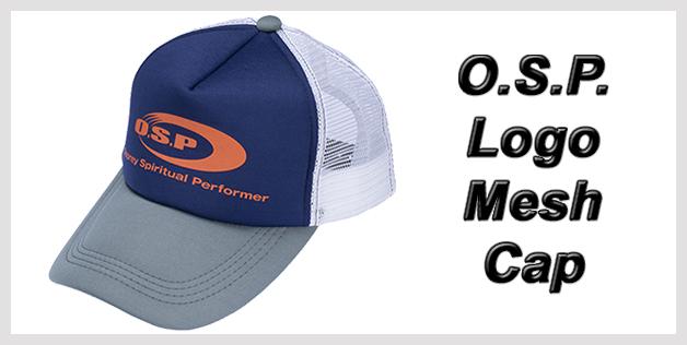 O.S.P. Logo Mesh Cap