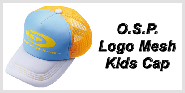 O.S.P. Logo Mesh Kids Cap