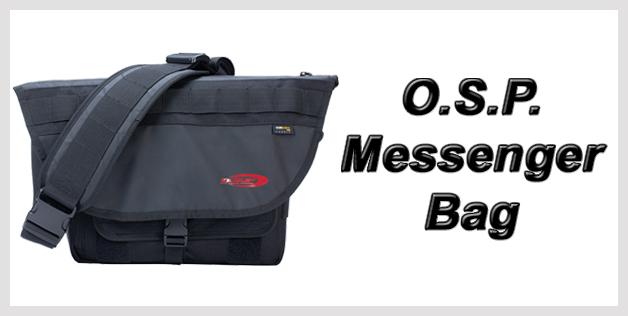 O.S.P. Messenger Bag
