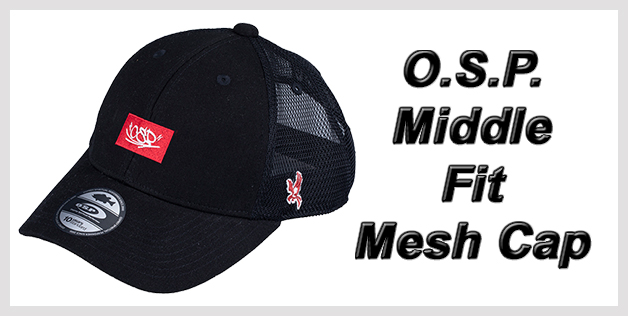 O.S.P. Middle Fit Mesh Cap