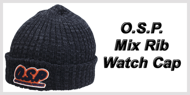 O.S.P. Mix Rib Watch Cap