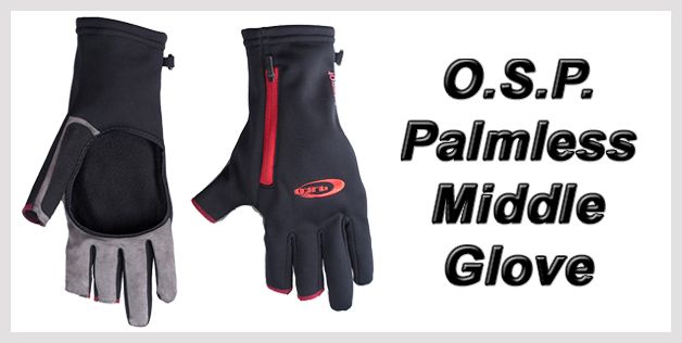 O.S.P. Palmless Middle Glove