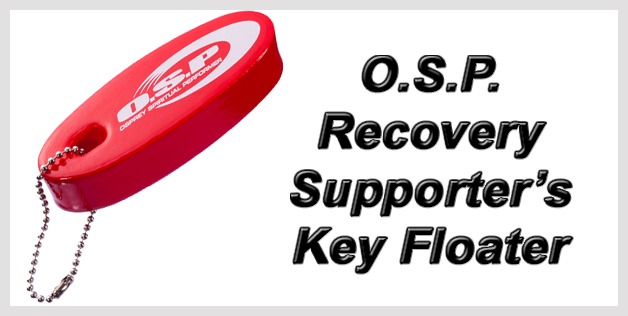 O.S.P. Recovery Supporter's Key Floater