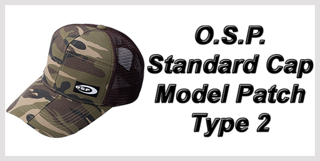 O.S.P. Standard Cap Model Patch Type 2