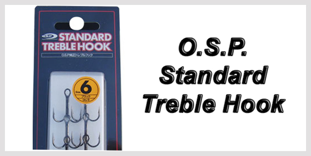 O.S.P. Standard Treble Hook