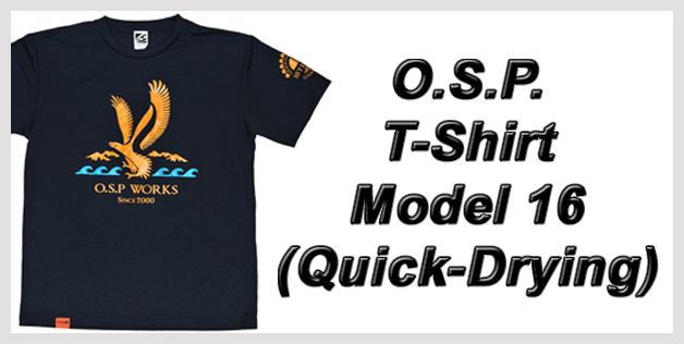 O.S.P. T-Shirt Model 16 (Quick-Drying)