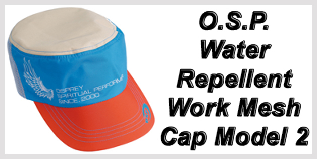 O.S.P. Water-Repellent Work Mesh Cap Model 2