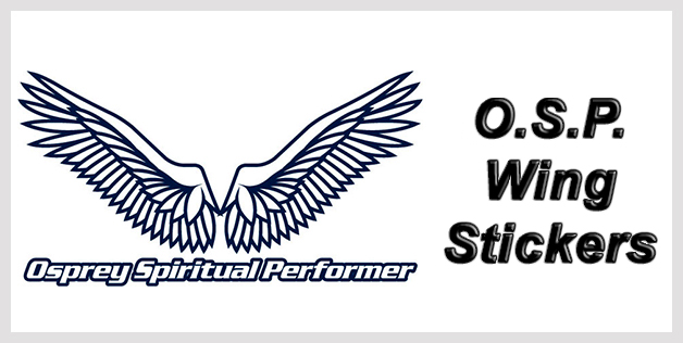 O.S.P. Wing Stickers