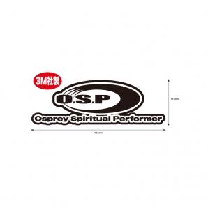 O.S.P. BOAT DECK STICKER